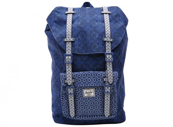 Little America Mid-Volume Navy Backpack-10020-00921-OS