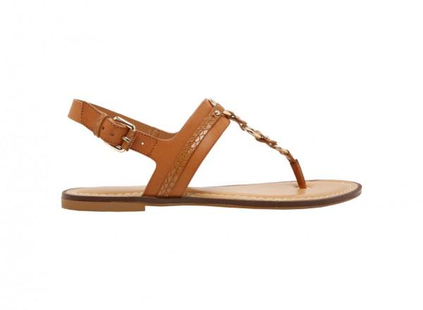 حذاء فلات إيدن بني
