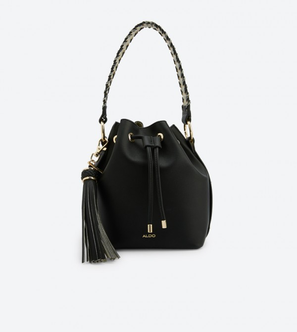 9a787b840 Dororyth Tassel Details Bucket Bag - Black 23340403-DORORYTH