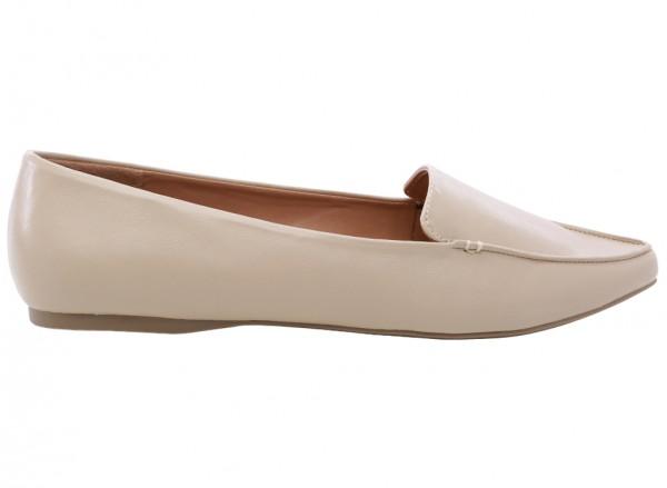 حذاء بيج مسطح - إيويل