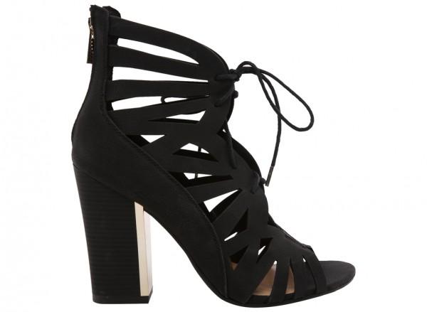 City Fashion Black Shoes-30110503-ALEAWEN