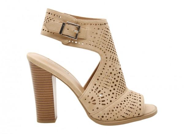 Orianna Beige High Heel