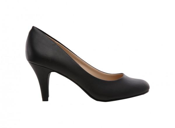 Dress Basic Black Shoes-30110702-BUSKEY