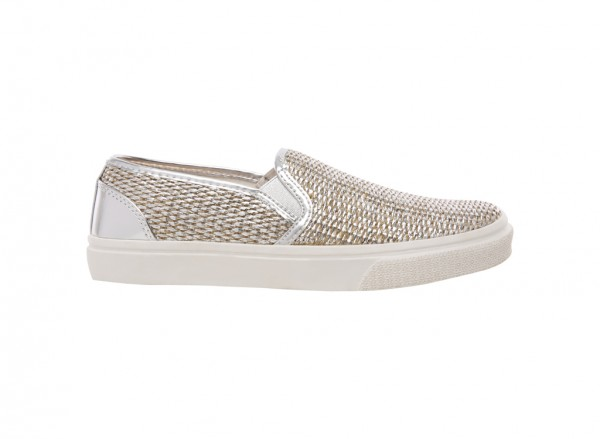 Leisure Shoes Silver