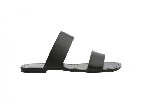 Bauso Black Sandals