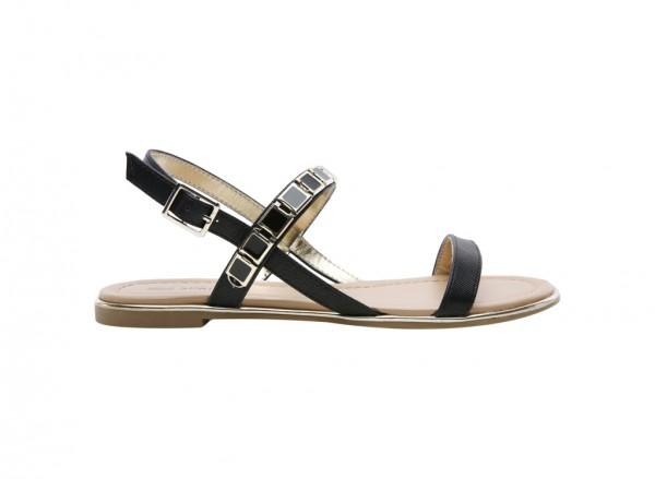 Gwaerien Black Sandals