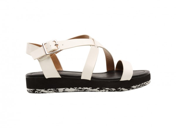 Montanes White  Sandals