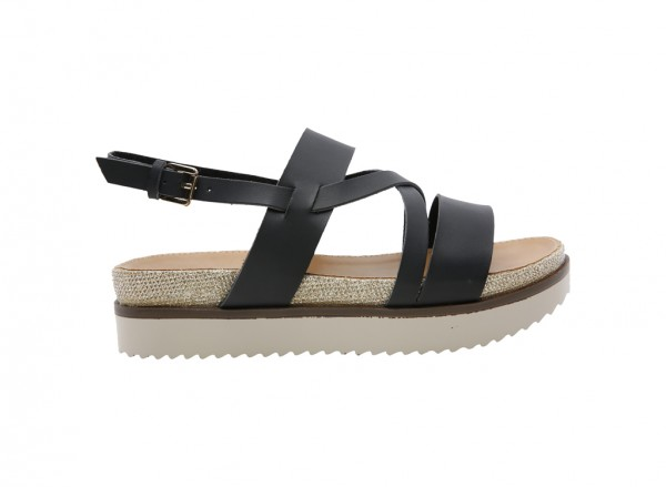 Nydudda Black Sandals