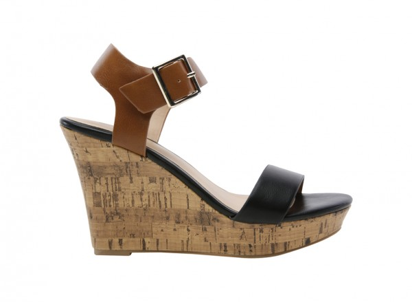Isoline Black Sandals