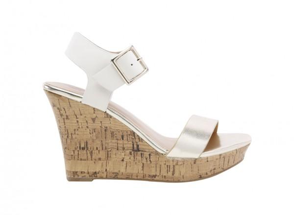 Isoline Metallic  Sandals