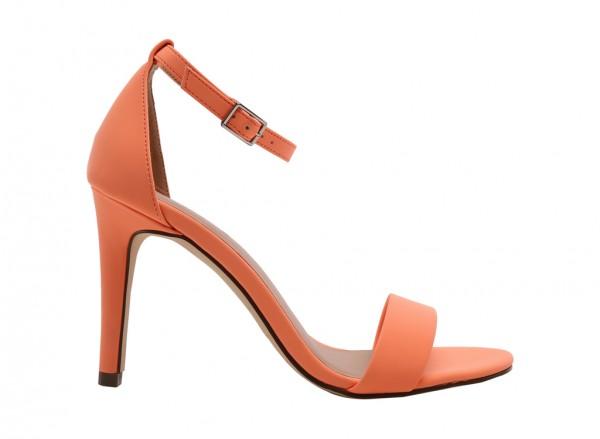 Waylanda Peach  Sandals