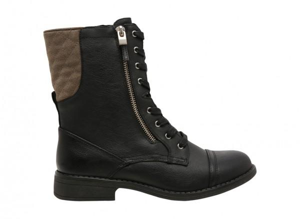 حذاء بوت كواسانو أسود