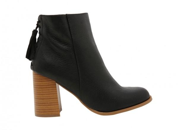 حذاء بوت تراليسا أسود