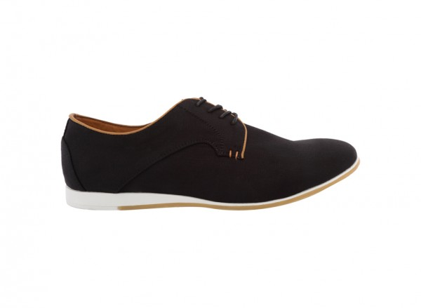 City Fashion Black Shoes-30210501-QELADIA