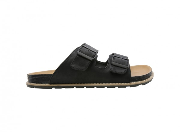 Mowry Black Sandals