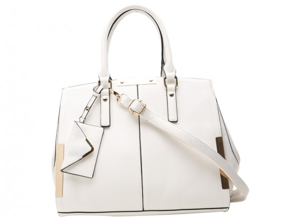 Bakulondon White Satchel