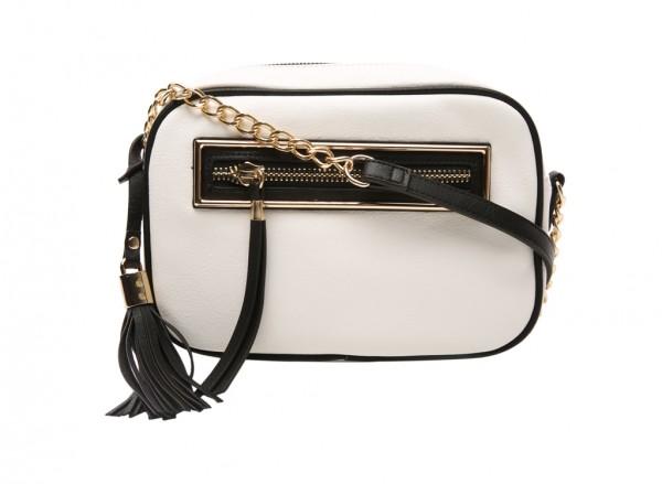 End White Cross Body Bag