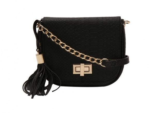 Ezroelia Black Cross Body Bag