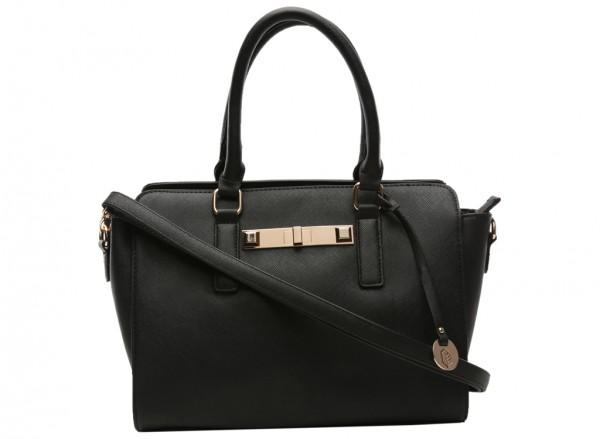 Hoitt Black Totes Bags