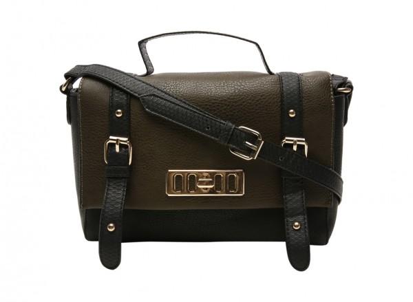 Rumson Khakhi Cross Body Bag