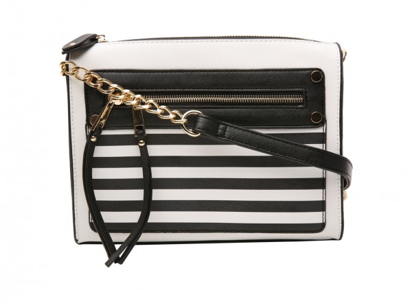 Sidney Black Cross Body Bag