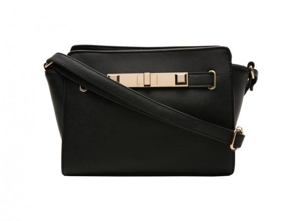 Saratoga Black Cross Body Bag