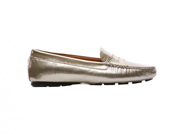 Paglia Lux Gold Loafers