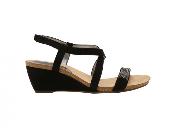 Jasia2 Black Sandal