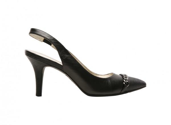 Yavari Black High Heel