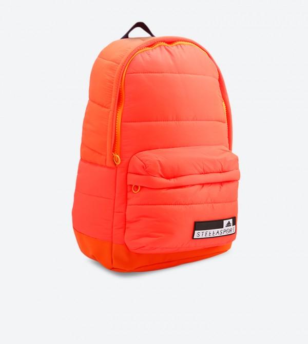 933b0a8c20d2d1 Adidas Top Zip Backpack - Orange BS3641