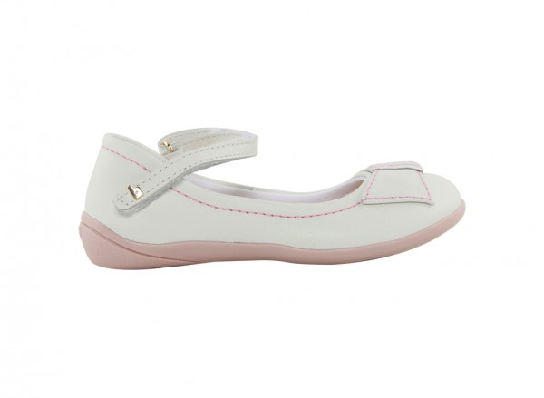 Candy White Flats