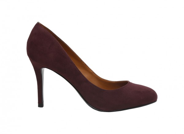 Burgundy Medium Heel-CK1-60360923