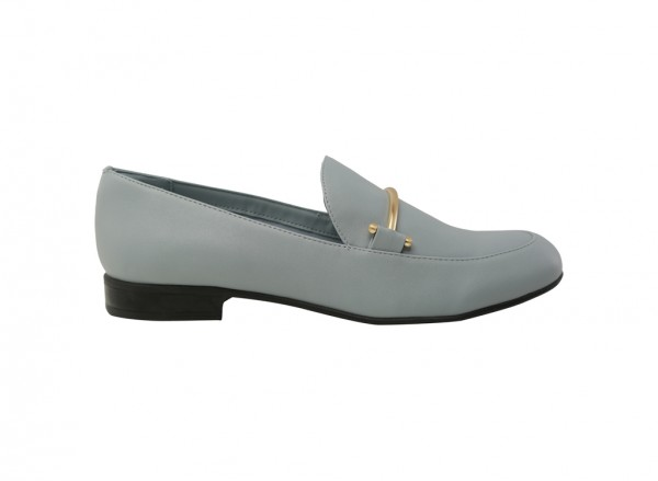 حذاء أزرق خفيف