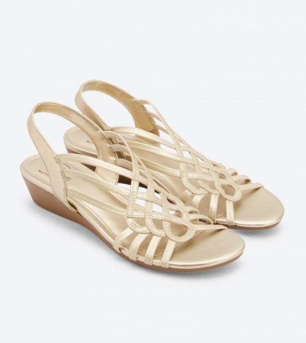Sandals 379241 Reaction Dsw Wedge Gold zVqUSpLMG