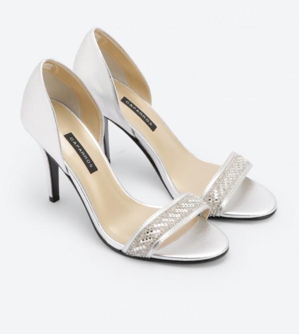Illusion Heel 418201 High Dsw Silver Sandals rdxeCoB