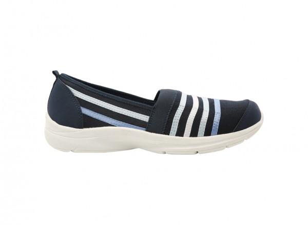 Quietfind Navy Sneaker
