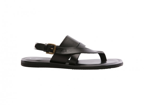 Reel-Ist Black Sandals