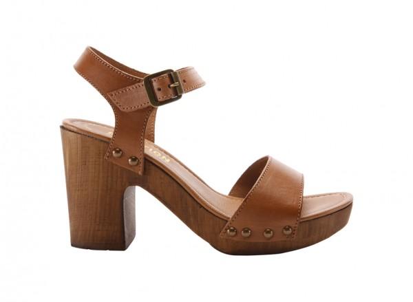 Log Set Tan Footwear