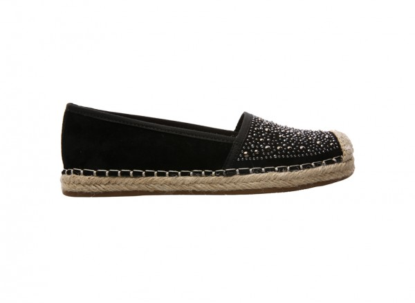 L-Twilight Black Loafers