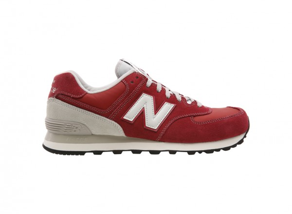 574 Red Sneakers And Athletics-ML574VBU