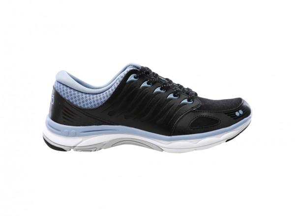 حذاء سنيكرز فلورا أسود