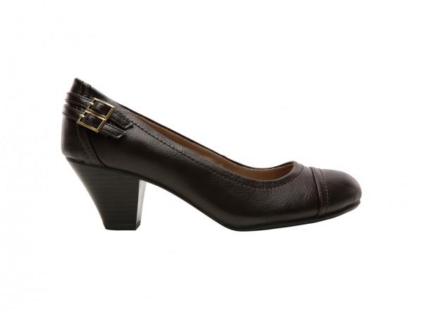 Give Chocolate Mid Heel