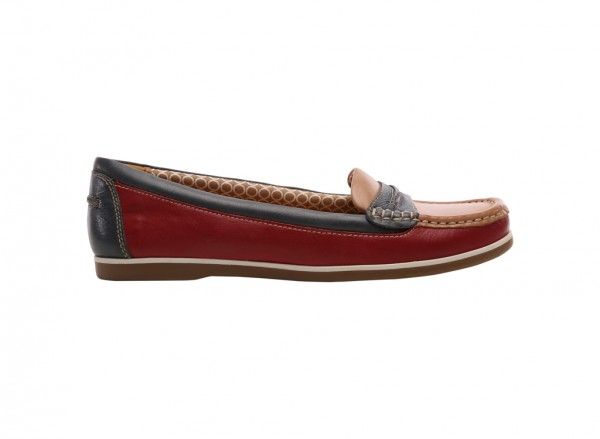 Hamilton Red Loafers