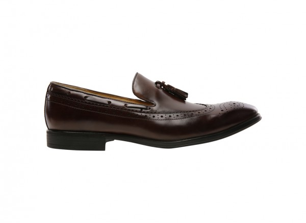 Namfleck Brown Slip-Ons