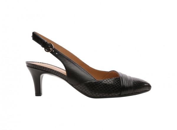 Odellia Black Sandals