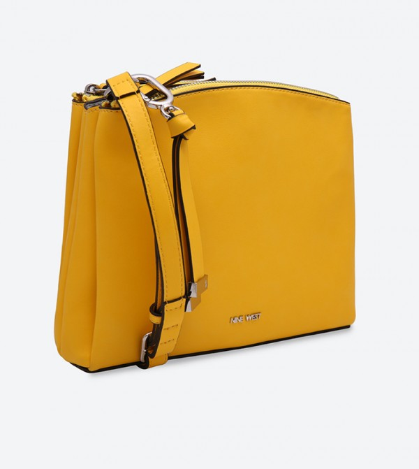 b41e6b3506e25 Nine West Levona Cross Body Bag - Yellow