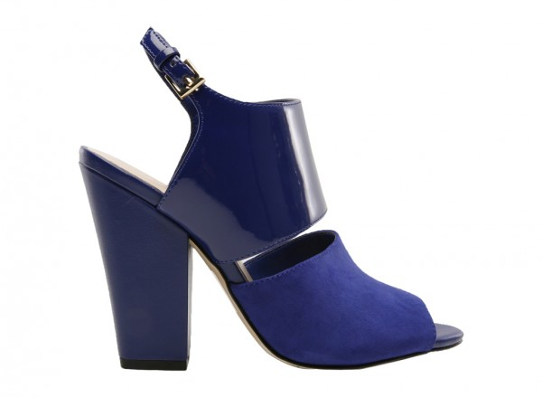 Oresah Blue High Heel