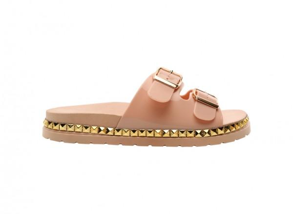 Wonderly Pink Mid Heels