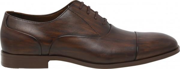 حذاء طويل الرباط بني