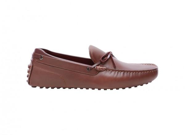 حذاء لوفرز بنى